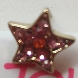 7fcdc4a2890fe Betsey Johnson New Pearl/Pink Star Stud Earrings NWT